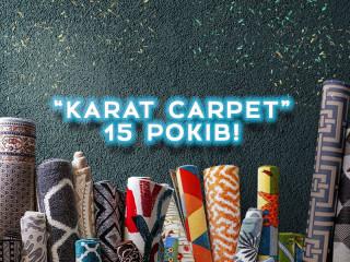 KARAT CARPET 15лет